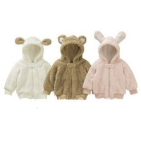 Best Selling!! winter baby coats Hooded children jackets baby clothes rompers for newborns  animal designs+free shipping