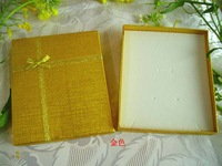 13x15 gold tieclasps quality gift box Large packaging box jewelry box