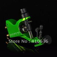 Hot! Professional Nuclear Green Stigma Bizarre V2 Rotary Tattoo Machine Gun with 3 Stroke excenter 2 Allen Key M659-9