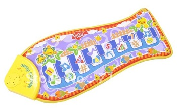 free shipping  Children's Educational Toys fish Music crawling mat, baby toys blanket, baby game