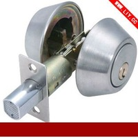 Stainless Steel  double  brass cylinder Deadbolt Lock DC11-a
