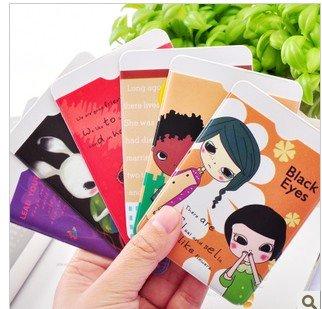 Biscuit girl bank kaka set of south Korean cartoon lovely double bus entrance card C845 set(China (Mainland))