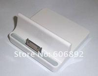 Higi-Quality USB socle Base Dock Charger for iPhone iPad 16GB 32GB 64GB Wi-Fi 3G Drop Shipping 10pcs/lot