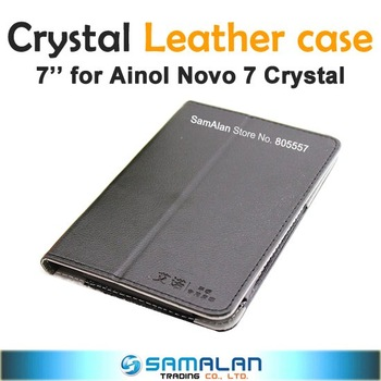 Ainol Novo 7 Crystal Leather Case HK Post Free Shipping