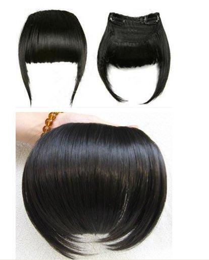 Clip On Bangs Human Hair