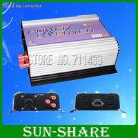 free shipping! 500w  grid tie solar Micro inverter input  DC10.8V-30V /DC 22V-60V,output.AC 90V-140V,190V-260V