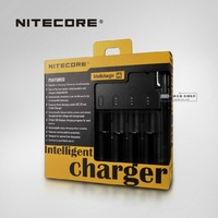 Free Shipping + 1PC  Nitecore I4 Charger for 18650 16340 26650 10440 AA AAA 14500 Battery Charger Nitecore Battery Charger