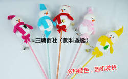 Min.order is $15 (can mix item) christmas snowman bar/ christmas snowman stick/ christmas decoration/ christams gift 5 pcs/pack(China (Mainland))