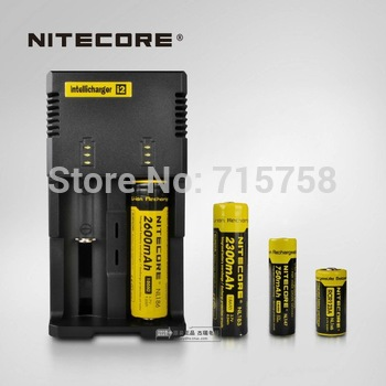 Free Shipping + 1PC Nitecore Intellicharge i2 Microcomputer Controlled Intelligent Charger Li-ion/NiMH Battery Charger