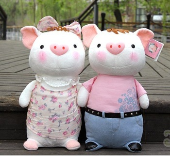 Free Shipping Low sales  Metoo Plush toys  Lovely Pig Doll  Clean  Healthy And Lovely