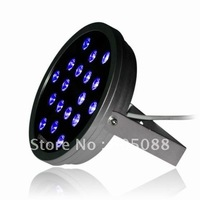 50w round Edison led rgb wall washer light,with 3-in-1 rgb leds,IP65,DC24V,ideal for landscape lighting,2pcs/lot free shipping