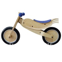 Free shipping children's  wooden balance bicycle