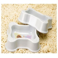 Pet bowl dog bowl bone type , b