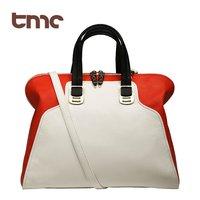 high street New TMC Fashion Women Retro Handbag Classic Elegant Satchel Shoulder Swiss Handbag Red YL135