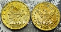 1865 $2.50 LIBERTY QUARTER EAGLE GOLD COINS