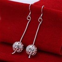 NE081 Free shipping  wholesale fashion 925 sterling silver earrings,925 sterling silver jewelry, wholesale fashion jewelry
