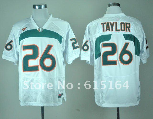 sale retailer 415b6 f2602 ncaa jerseys miami hurricanes 26 sean taylor orange college ...