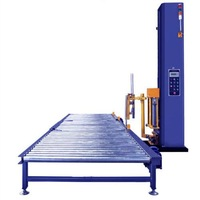 Automatic stretch wrapping line SL303, pallet wrapper and film wrap machine, low price with much quality, welcome!