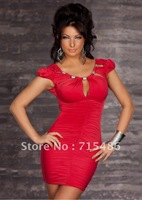 Одежда и Аксессуары 2012 Lovely New Lady Dress Mini Party Dress Sexy Club Wear
