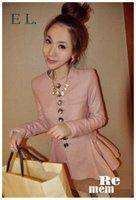 Qiu dong new cloth coat medium style cultivate one's morality cloth coat female skirt coat