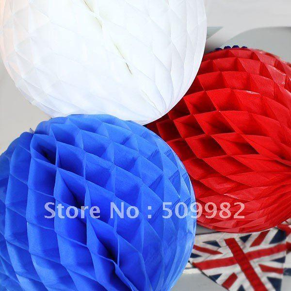 "200pcs/lot +free versand 8"" 20cm seidenpapier wabenball, papier ball, blume laterne für hochzeit/Partei/dekoration"