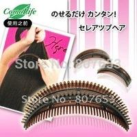 freeshipping 1pack=2pcs Magic Fluffy Princess Hair Clip Hair Styling Fluffy Bangs Clip Stereoscopic Hair Tools