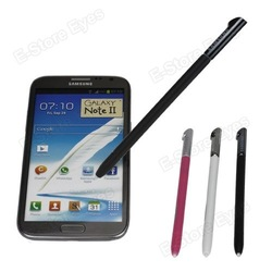 3PCS Wholesale Slim Stylus Touch Pen for Samsung Galaxy Note i9220 free shipping(China (Mainland))