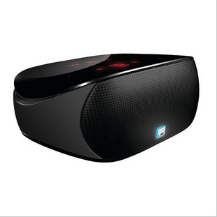 Logitech ue mini boombox radio bluetooth speaker built-in touch screen