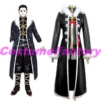 Hot Sale Free Shipping Tailored Hunter X Hunter Kuroro Lucifer Costume,2kg/pc