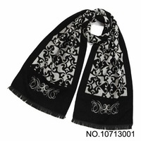 2013 New arrival Men's Scarfs Fashion style fineness silk scarf  long Shawls soft touch Scarves 4 colors 190*35cm free shipping