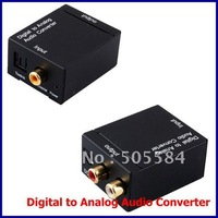 Digital Optical Coaxial SPDIF to Analog R/L Audio Converter