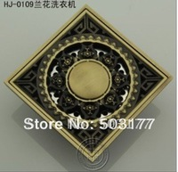 Material: brass   archaize floor drain art high-quality goods   Anti odor  prevent return overflow   prevent dry up