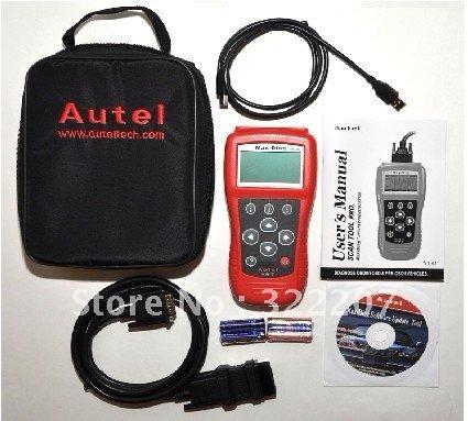 DHL free shipping Original Autel Pro MaxiDiag 4 in 1 code scanner(JP701 + EU702 + US703 + FR704) PRO -D(China (Mainland))