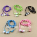 3.5mm In-ear Noodles Earbuds Headset Headphone Earphone For iPhone 5 4S 3GS MP3 Wholesale