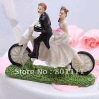 Frees hipping  Cycling Newly Cake Topper wedding Engagement favors