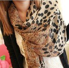 popular leopard print scarf