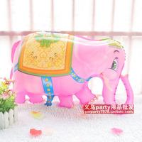 Free shipping 29 Inches animal style balloon birthday decoration aluminum elephant balloon   5pcs/lot