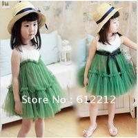 1 PCS Wholesale flower girl dresses- Special children dress girls Older children dress-Free shipping