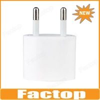 $10 off per $300 order Oval EU Plug Charger for iPhone 5 & iPhone 4/4S