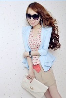 New suits, color suits of female money dazzle colour ultra spirit yarn brought thin mass suit