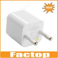 $10 off per $300 order EU Plug USB AC Charger for iPhone 5 & iPhone 4/4S (1A)