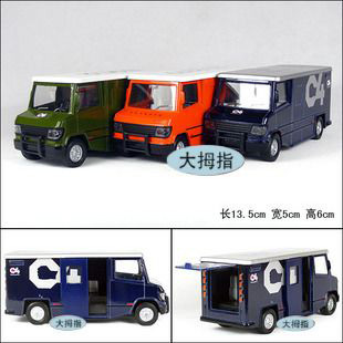 Free shipping ,very popular Armoured car armored car plain alloy car model educational toys toy