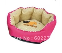 100% canvas cotton hamburger pet nests are for dogs, cats of most size
