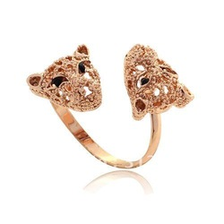 New Style Hot Sale Fashion Designer Tiger Rings Christmas Jewelry /Min.order is $10 (mix order)(China (Mainland))