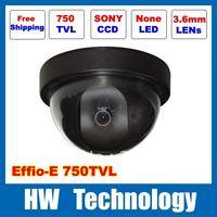 """1/3""""Sony Effio-e 750TVLine  indoor dome CCTV Camera  free shipping"""