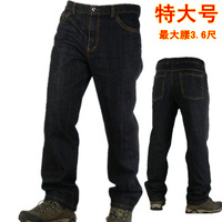 BRAND NEW plus size trousers men's casual Large jeans WHOLESALE FREE SHIPPING