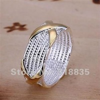 SIZE 6-10# Free Shipping 925 sterling silver ring 925 ring silver ring silver Fashion jewelry  arla jisa saba LQ-R013