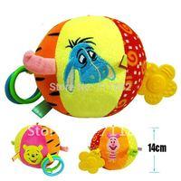 free shipping  kid plush toy baby Cloth ball