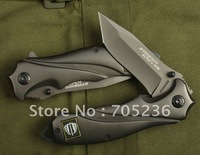 Strider Knives 313  - Black Folding Blade Knife