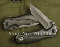 Strider Knives 313  - Black Folding Blade Knife
